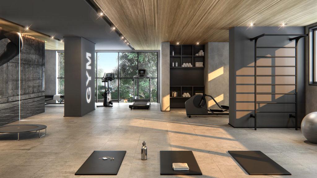 Perspectiva artística do fitness